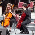 Hale & Hearty performing at Cello Extravaganza, October 2014