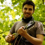 Eli Bender of the folk music duo Hale & Hearty